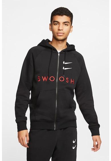 Nike Суитшърт Swoosh с качулка и цип Мъже