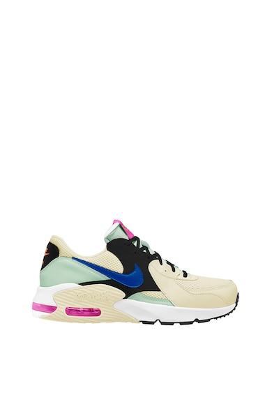 Nike Спортни обувки Air Max Excee с цветен блок и кожа Жени