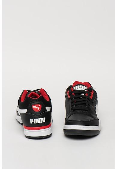 Puma Кожени спортни обувки Palace Guard с текстил Мъже