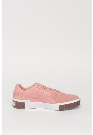 Puma Кожени спортни обувки Cali Exotic Жени