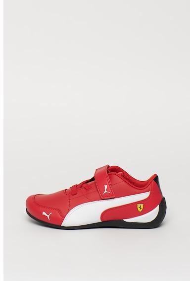Puma Кожени спортни обувки Scuderia Ferrari Drift Cat 7 с велкро Момчета