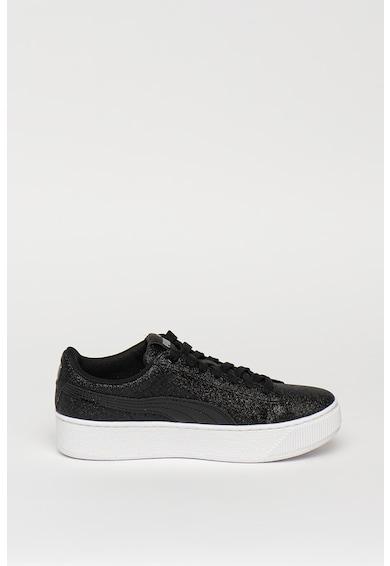 Puma Спортни обувки Vikky с бляскава повърхност Момичета