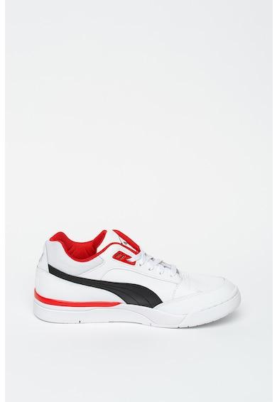 Puma Кожени спорти обувки Palace Guard с контрасти Мъже