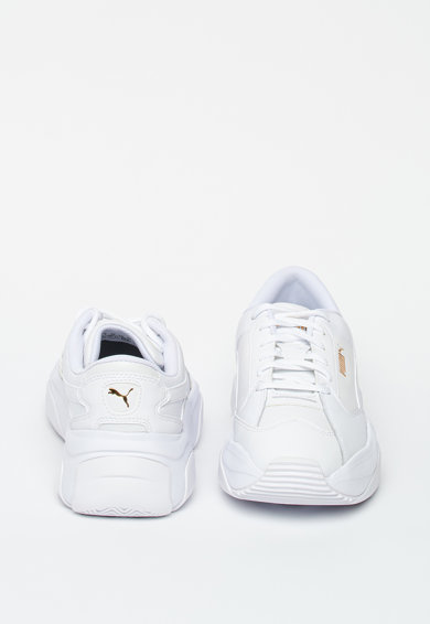 Puma Спортни обувки Storm от еко кожа с кожени елементи Жени