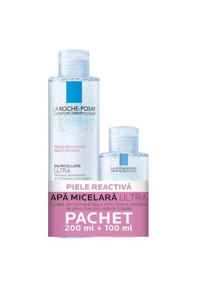 La Roche-Posay Pachet promo Apa micelara Ultra Reactiva, 200 + 100 ml Femei