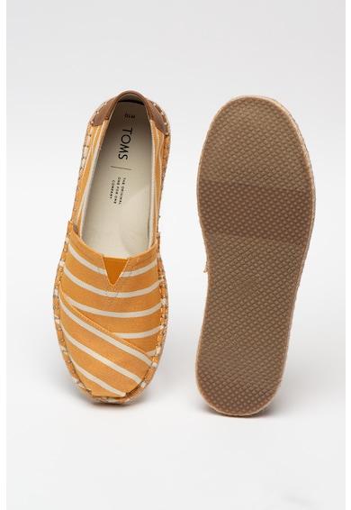 TOMS Pantofi loafer cu insertii de piele ecologica Classic Barbati