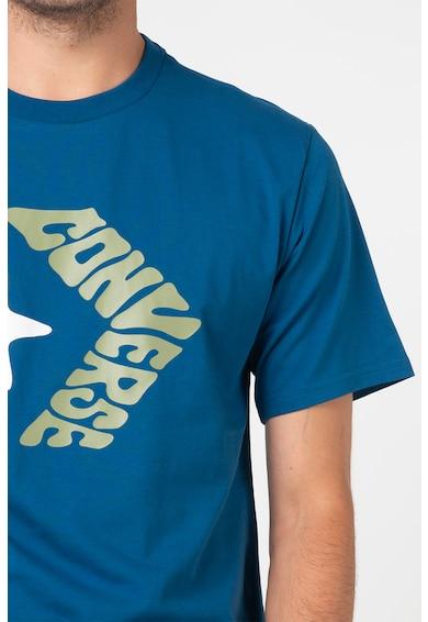 Converse Тениска с овално деколте и лого Мъже