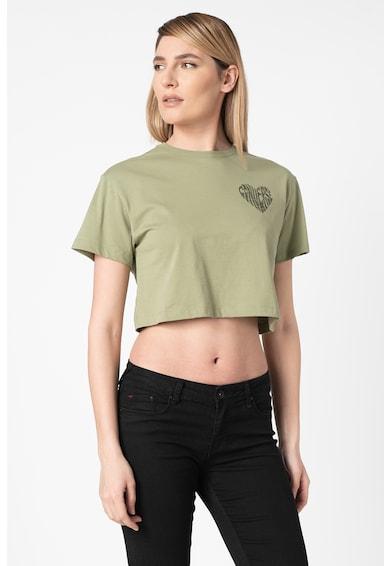Converse Къса тениска с шарка на сърца Жени