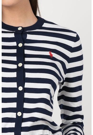 Polo Ralph Lauren Finomkötött csíkos kardigán női
