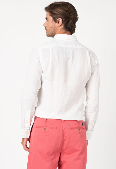 Polo Ralph Lauren Lentartalmú ing hímzett logóval férfi