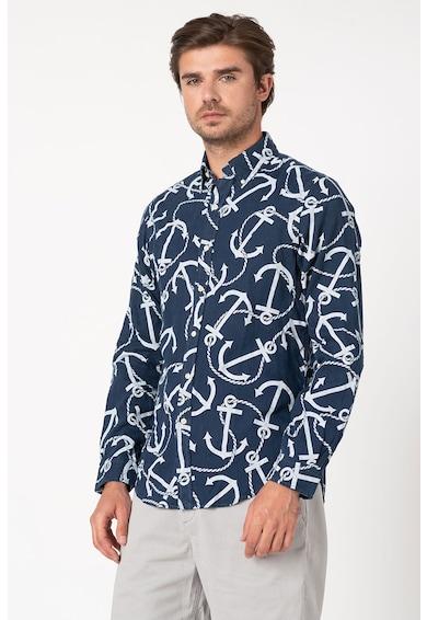 Polo Ralph Lauren Lenvászon ing legombolható gallérral férfi