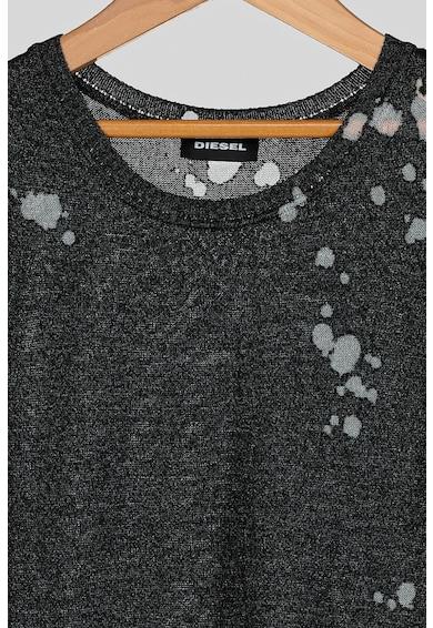 Diesel Rochie din tricot fin cu terminatie asimetrica Fete