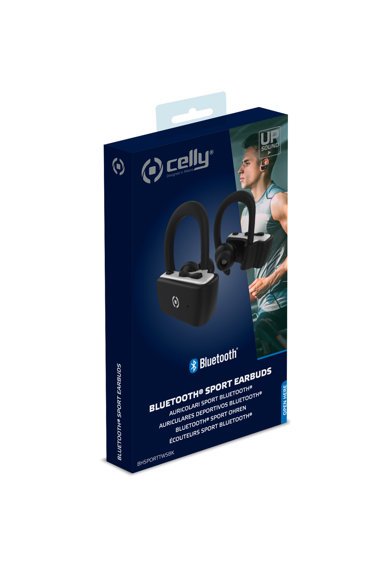 Celly Casti bluetooth  Earbuds Sport, Negru Femei