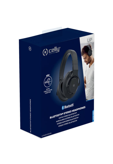 Celly Casti bluetooth  Ultrabeat, Negru Femei
