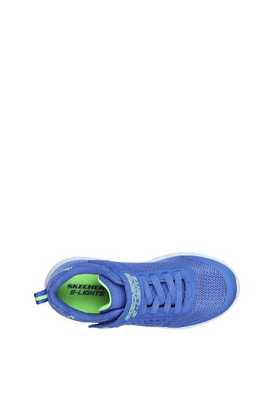 Skechers Мрежести спортни обувки Dyna-Lights с импрегнирани детайли Момчета
