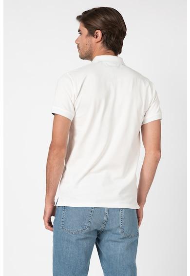 Gant Tricou polo din material pique cu logo brodat Barbati
