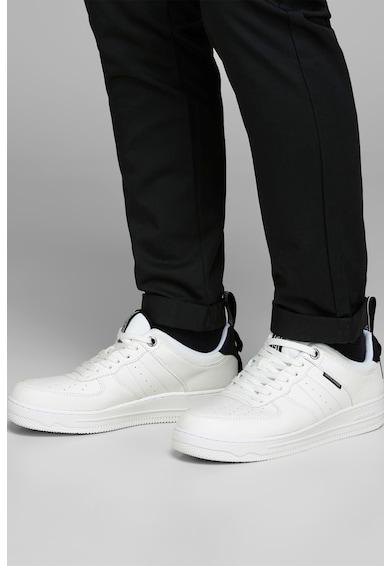 Jack&Jones Pantofi sport din piele ecologica si material textil Baieti