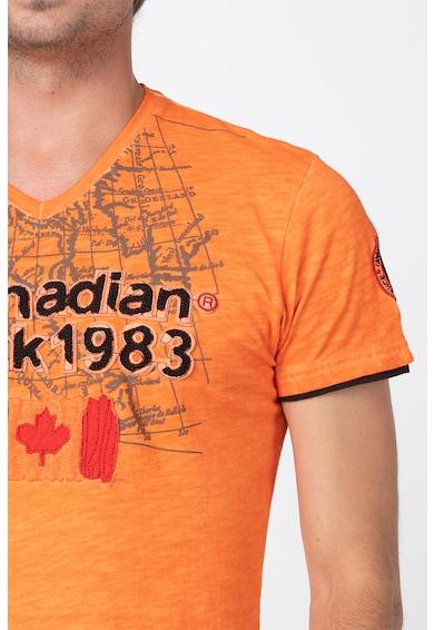 Canadian Peak Jundai logós póló férfi