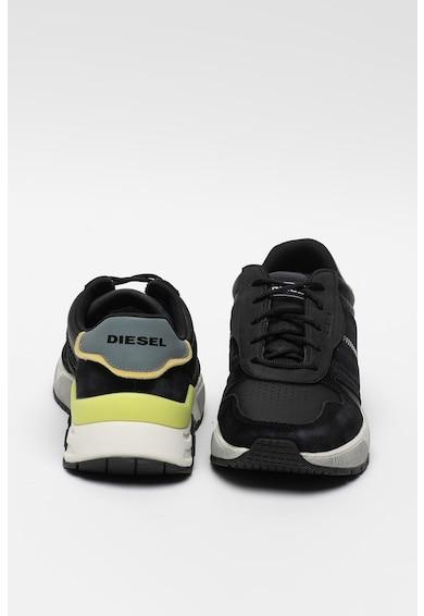Diesel Спортни обувки Brentha Flow от кожа и велур, за бягане Мъже