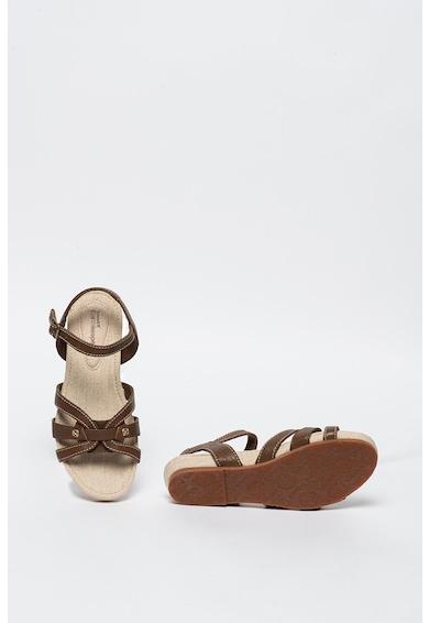 Timberland Sandale de piele, cu bareta pe glezna Femei