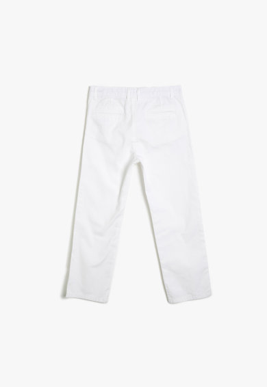 KOTON Pantaloni chino cu croiala dreapta Baieti