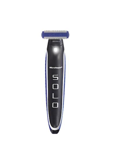 MediaShop Modelator pentru barba all in one - MicroTouch Solo, Precizie maxima, Cap rotativ, utilizare fata, corp, Lampa LED incorporata Barbati