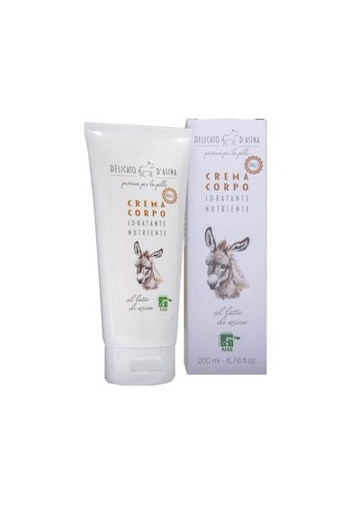 La Dispensa Crema de corp bio hidratanta  Delicato d'Asina cu lapte de magarita, 200 ml Femei