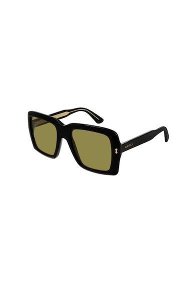 Gucci Унисекс правоъгълни слънчеви очила Жени