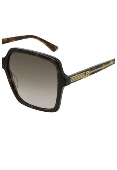 Gucci Правоъгълни слънчеви очила с градиента Жени