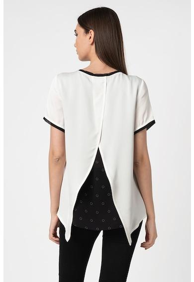 Karl Lagerfeld Póló kontrasztos részletekkel női