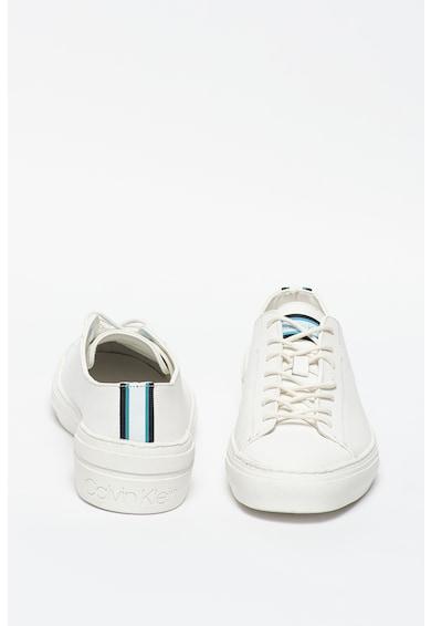 CALVIN KLEIN Pantofi sport de piele peliculizata Octavian Barbati