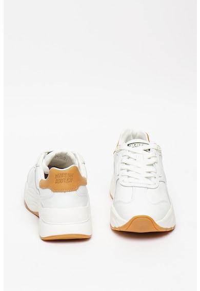 Scotch & Soda Pantofi sport cu insertii din piele Celest Femei
