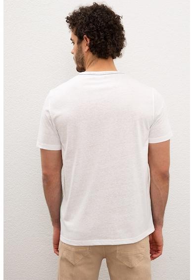 U.S. Polo Assn. Kerek nyakú mintás póló férfi