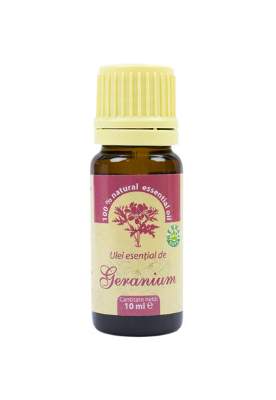 PNI Ulei esential de Geranium (Aetheroleum geranii) 100% pur fara adaos, 10 ml Femei