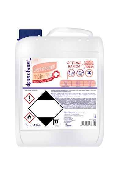 Dermofarm Gel dezinfectant pentru maini  cu 80% alcool, efect antibacterian Femei