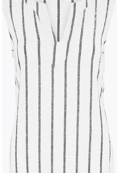 Marks & Spencer Rochie tip tunica, din amestec de in, cu dungi Femei