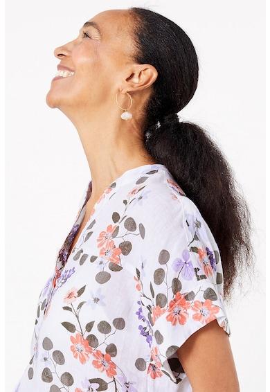 Marks & Spencer Bluza tip tunica de in cu imprimeu floral Femei