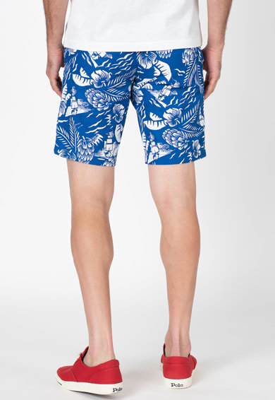 Tommy Hilfiger Pantaloni scurti cu imprimeu tropical Brooklyn Barbati