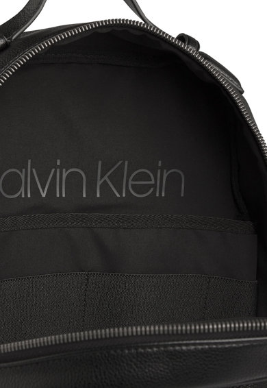 CALVIN KLEIN Rucsac de piele ecologica cu logo discret Barbati