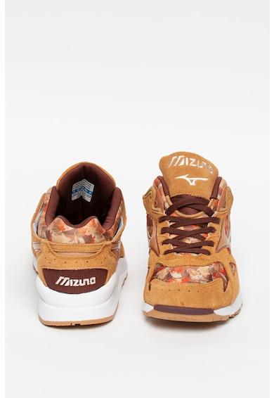 Mizuno Pantofi sport cu garnituri de piele intoarsa si piele Sky Medal Falling Leave Femei