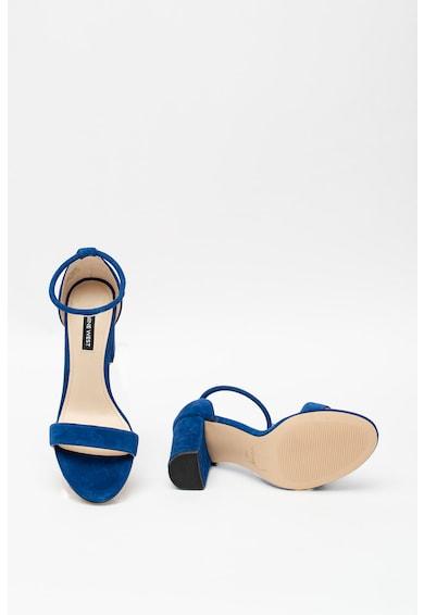 NINE WEST Велурени сандали Ola с висок ток Жени