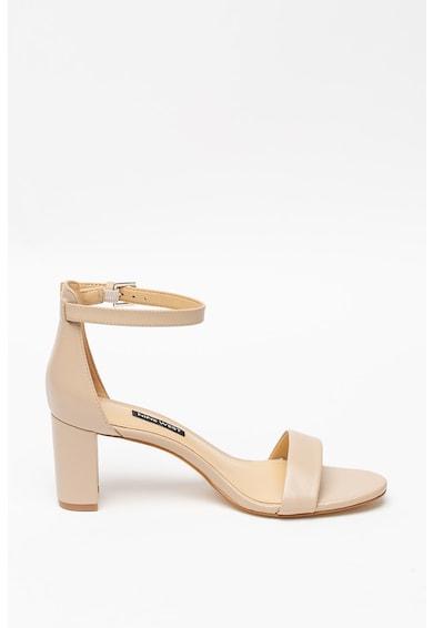 NINE WEST Кожени сандали Pruce с висок ток Жени