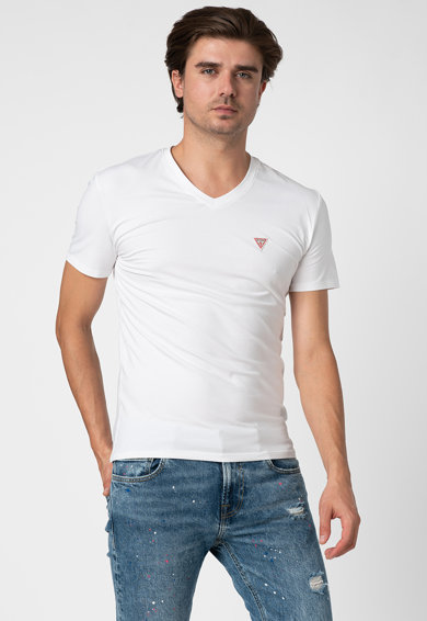GUESS JEANS Tricou slim fit Barbati