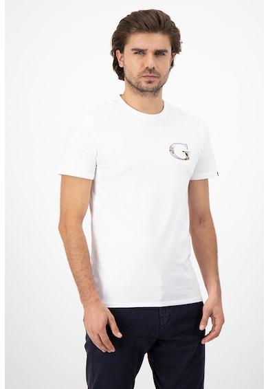 GUESS JEANS Тениска с памук и лого Мъже