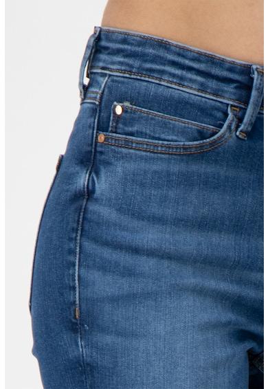 GUESS JEANS Прилепнали дънки със захабен ефект Жени