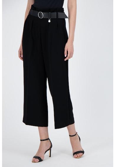 GUESS JEANS Pantaloni culotte cu o curea in talie Femei