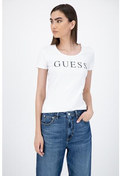GUESS JEANS Tricou cu aplicatie logo Femei