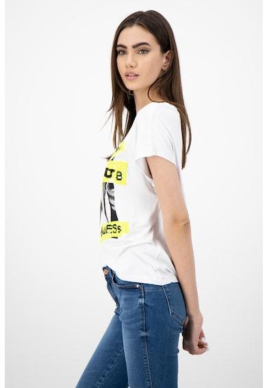 GUESS JEANS Тениска с фигурална щампа Жени