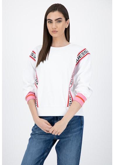 GUESS JEANS Bluza sport cu banda logo Femei