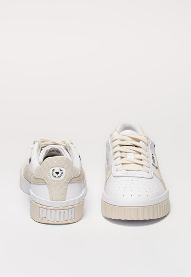 Puma Cali bőr sneaker nyersbőr betétekkel női